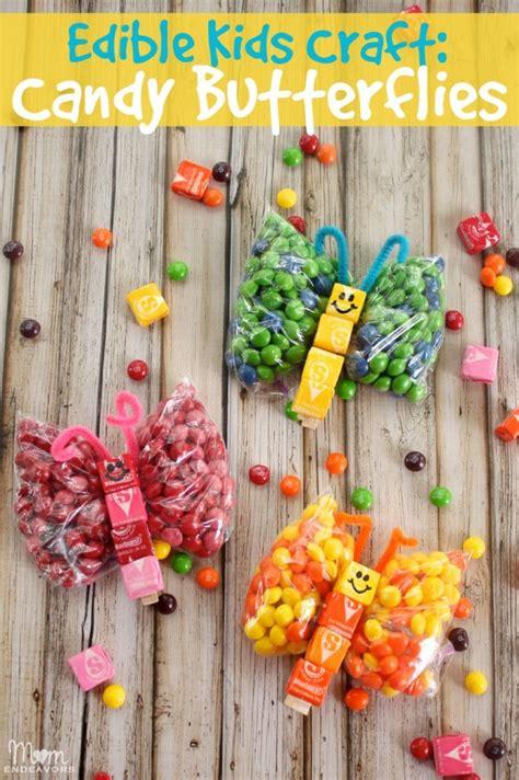 Edible Kids Craft Candy Butterflies