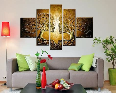 Sangu Hand Painted 5piece Love Tree Oil Paintings Canvas. Urban Home Decor. Decorative Wall Coverings. Furniture And Home Decor. Cake Decorating Classes Boston. Collage Wall Decor. Glass Dining Room Tables. Designer Decor. Portable Room Divider