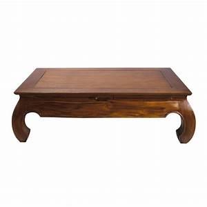Table En Teck Massif : table basse en teck massif l 122 cm opium maisons du monde ~ Teatrodelosmanantiales.com Idées de Décoration