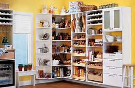 Smart Storage Ideas Small Kitchens Kitchen Wall With White Cabinet Organizer Storage And Brown Wooden