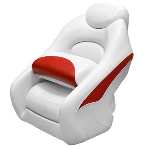 Boat Bolster Seat by Crownline Deluxe White Marine Boat Bolster