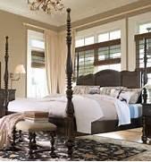 Paula Deen Bedroom Furniture by Universal Furniture Paula Deen Home Tobacco Queen Savannah Poster Bed