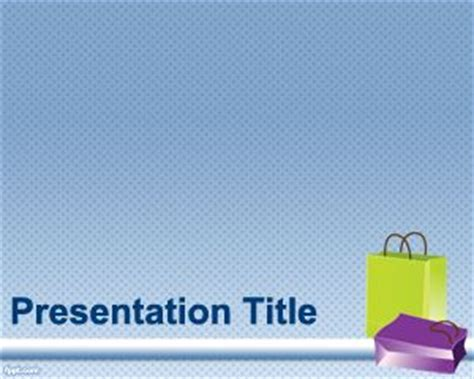 travel bags powerpoint template