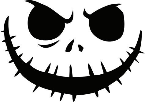 Pumpkin Templates Free by Free Printable Skellington Pumpkin Carving Stencil