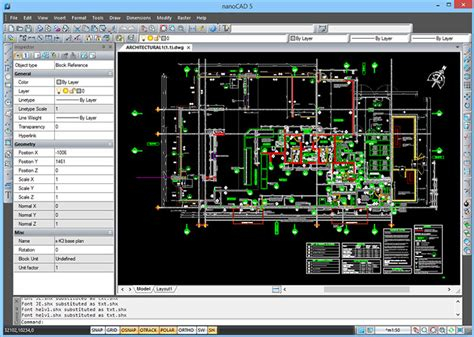 purpose of floor plan nanocad is a multi purpose cad