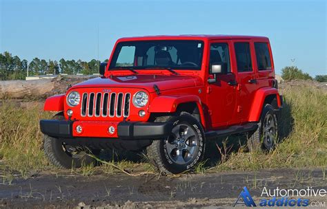 types of jeeps 2016 2016 jeep wrangler sahara unlimited review test drive