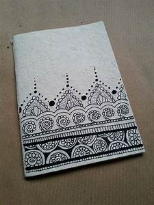 Notebooks Handmade In Rice Paper The Illustrations On The