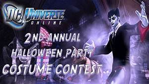 DCUO 2nd Annual Halloween Party: Costume Contest - YouTube