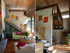 Modern, Wood, House, Design, U2013, M, M2, House