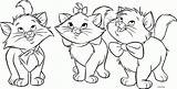 Cats Coloring Printable Didi Cat Colouring Sheets Sheet Kitty Three Friendly Printables sketch template