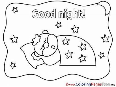 Coloring Night Afternoon Sheets Printable Worksheet Worksheets