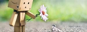 Cute Danbo And Frog Friendship Facebook Cover - Creative