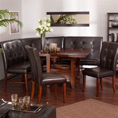 dining set with storage dining room sets with bench decofurnish 6714