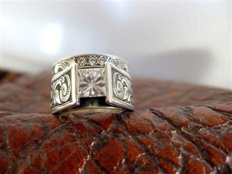 travis stringer western wedding rings