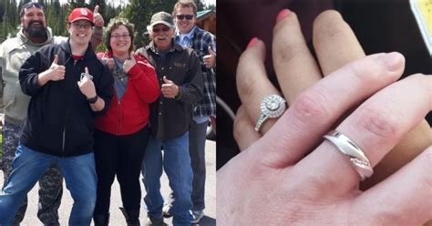husband finds wedding ring eight months after his wife