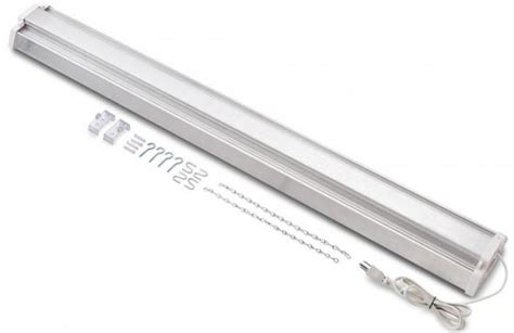 4ft led shop light review 4 foot led shop light from rockler