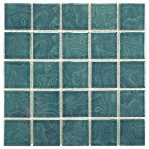 Earthy and colorful 1970s style wall and floor tile for Merola tile