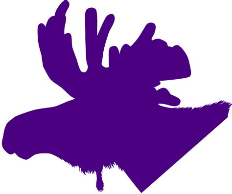 Moose Head Silhouette Free Vector Silhouettes