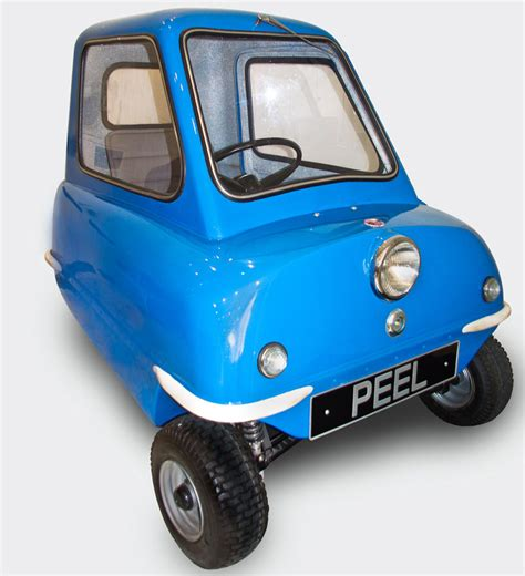 The Peel P50 - the one car you can drive ALL the way to ...