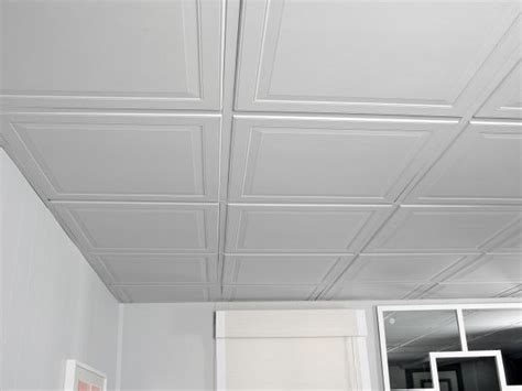 Drop Ceiling Images by How To Install A Drop Ceiling Hgtv