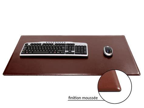 bureau cuir grand sous de bureau en cuir marron 80 cm par 50 cm