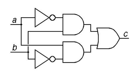 Circuit Diagram Xor Gate