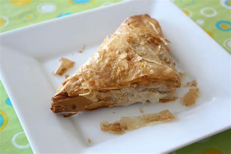 phyllo dough sweet potato pie or yamakopita