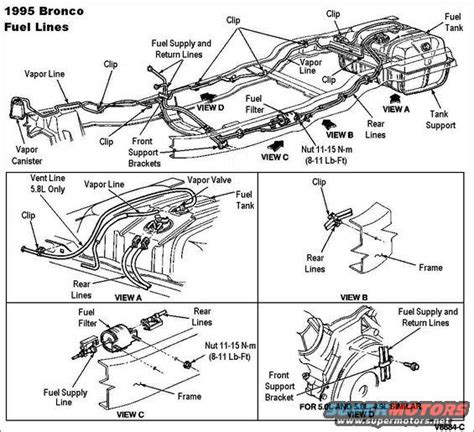 1988 Ford Bronco Fuel Line Diagram by 1983 Ford Bronco 90 96 Fuel System Pictures