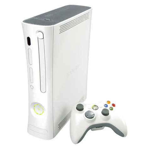 xbox arcade console microsoft xbox 360 arcade white console complete ebay