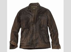 Men's Vintage Leather Jacket Vintage Finish Leather