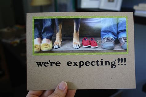 'we're Expecting' Fun And Creative Pregnancy Announcement