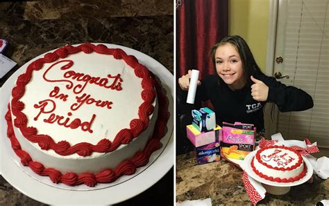 Mother Throws Her Daughter A 'period Party' • Awesomejelly.com