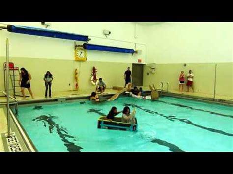 Cardboard Boat Project High School by Williamsville East Cardboard Boat Races 2012