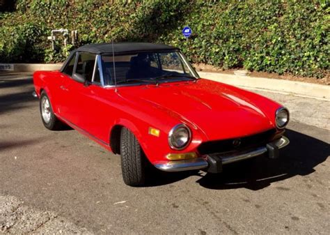 1974 Fiat Spider by 1974 Fiat 124 Spider Classic Fiat Other 1974 For Sale
