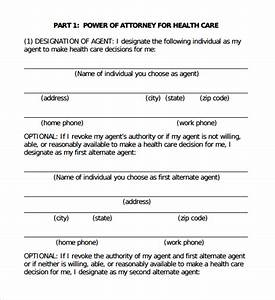 Sample advance medical directive form 11 download free for Advanced directive template