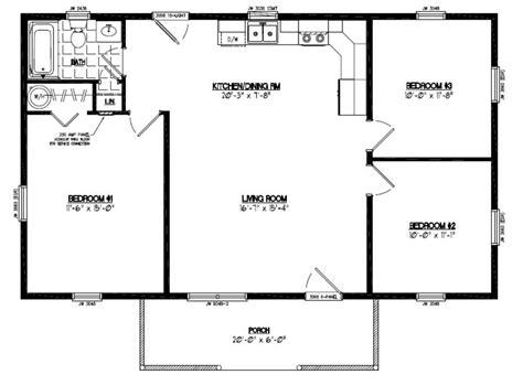 blueprints for homes certified floor plan pioneer floor plan 24pr1203 24 x 40