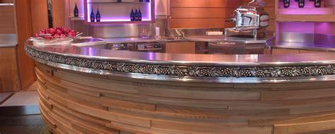 fabriquer un meuble de cuisine etainier tourangeau les comptoirs en étain bar en étain