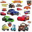 Disney CARS Piston Cup wall stickers MATER 19 decals ...