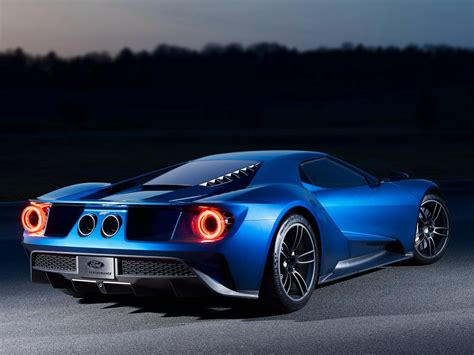 ford gt top speed inadvertently confirmed  mph