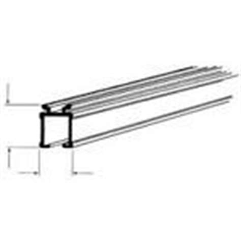 extruded aluminum curtain rods and track on