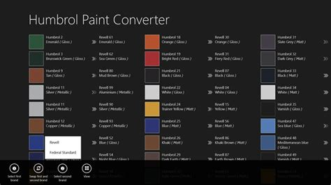 microsoft paint color converter paint conversion chart revell revell to humbrol ask home