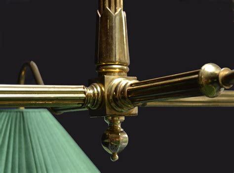 antique brass pool table light brass framed antique billiard snooker pool table light