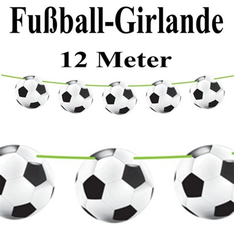 Dekoration Fussball by Fu 223 Girlande Partydekoration Mottoparty Fu 223