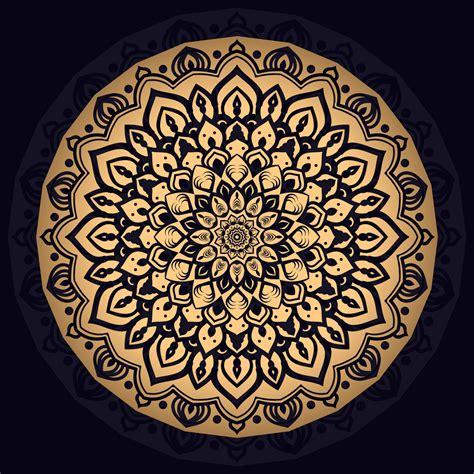 You must have an electronic cutting machine that reads svg or eps files to use these designs like the silhouette. Gold Intricate Mandala Background - Download Free Vectors ...