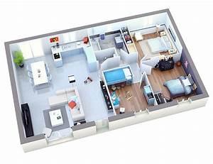 Plan Pour Maison : plan maison individuelle mod le ambre cuivre top duo ~ Melissatoandfro.com Idées de Décoration