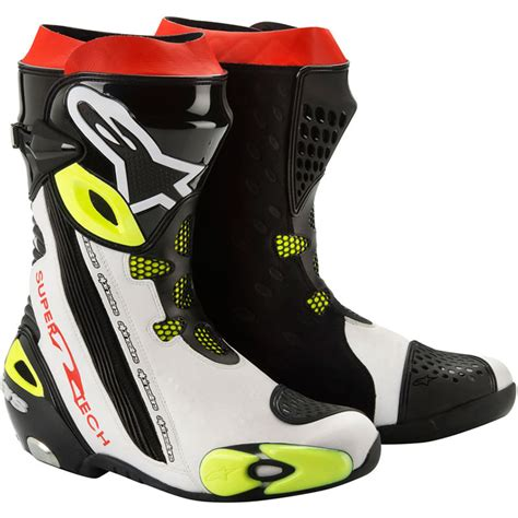 moto racing boots alpinestars 2012 supertech r motorcycle motorbike racing