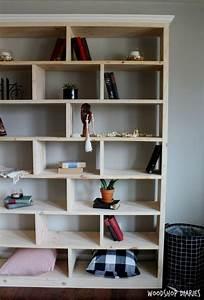 how, to, build, a, simple, modern, diy, bookshelf