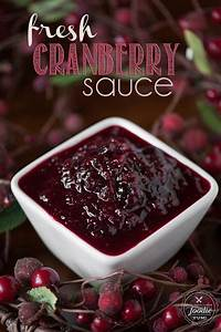 This sweet and incredibly flavorful Fresh Cranberry Sauce ...