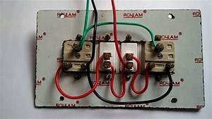 How To Make Electrical Switch Board Wiring Connection