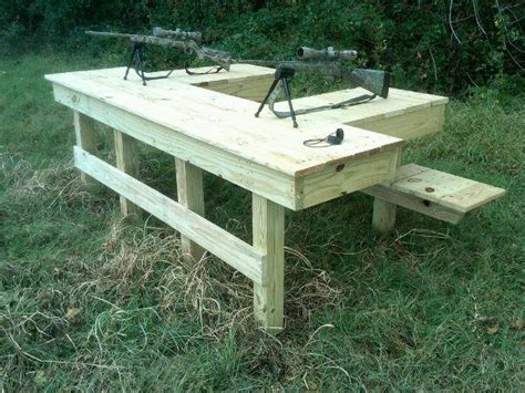shooting bench ideas  pinterest shooting
